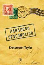 PARADERO DESCONOCIDO (ED. ESPECIAL)