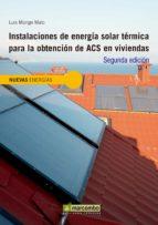INSTALACIONES DE ENERGÍA SOLAR TÉRMICA PARA LA OBTENCIÓN DE ACS EN VIVIENDAS (EBOOK)