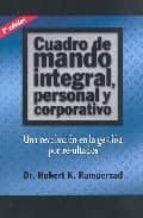 CUADRO DE MANDO INTEGRAL, PERSONAL Y CORPORATIVO