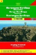 NORTE DE NORUEGA-CABO NORTE-HAMMERFEST, MAPA DE CARRETERAS (1:400 000)