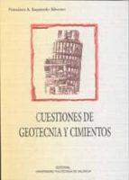 CUESTIONES DE GEOTECNIA Y CIMIENTOS