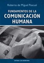 FUNDAMENTOS DE LA COMUNICACIÓN HUMANA (EBOOK)