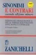 SINONIMI E CONTRARI (SECONDA EDIZIONE MINORE)