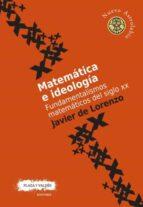 MATEMÁTICA E IDEOLOGÍA (Nuevo Astrolabio)