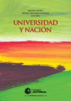 Universidad y nación