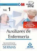 Temario I - auxiliares enfermeria servicio salud Madrid (Madrid (mad))
