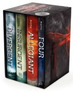 the divergent series: divergent + insurgent + allegiant + four (us hardback) veronica roth 9780062352163