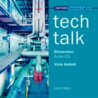 tech talk (elementary) 2 class audio cds-vicki hollett-9780194574563