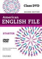 american english file starter dvd (2nd) (academias)-9780194775663