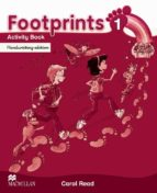 footprints 1 activity book. handwriting edition-carol read-9780230732063