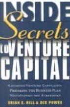 Inside secrets to venture capital por Brian e. hilldee power PDF FB2 978-0471414063