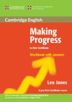 making progress to first certificate: workbook with answers-leo jones-9780521537063