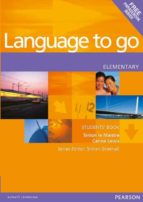 language to go. students  book with phrasebook (elementary) carina lewis simon le maistre 9780582403963