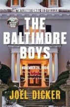 the baltimore boys joël dicker 9780857056863