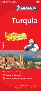 mapa turquia 2012 (ref. 758) 9782067173163