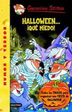 geronimo stilton: halloween...¡que miedo!-9788408067863