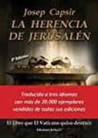 la herencia de jerusalén josep capsir 9788416887163