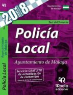 policia local ayuntamiento de malaga: test del temario 9788417287863
