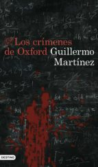 los crimenes de oxford guillermo martinez 9788423355563