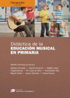 didactica de la educacion musical en primaria-9788428337663