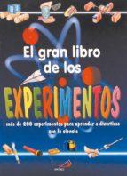 el gran libro de los experimentos antonella meiani 9788428522663