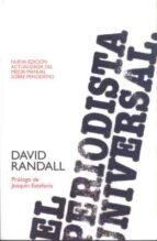 el periodista universal-david randall-9788432313363