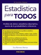 estadistica para todos-eva romero ramos-9788436833263