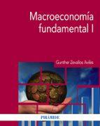 macroeconomía fundamental i gunther zevallos aviles 9788436836363