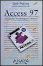 ACCESS 97 (GUIAS PRACTICAS)