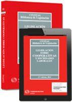legislacion sobre cooperativas y sociedades laborales (17ª ed.) (duo) 9788447047963