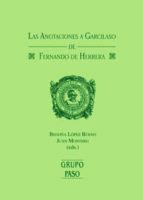 ANOTACIONES A GARCILASO DE FERNANDO DE HERRERA