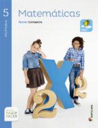 matemáticas, 5º primaria 9788468010663