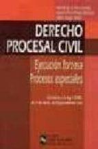 derecho procesal civil: ejecucion forzosa; procesos especiales-andres de la oliva santos-ignacio diez-picazo gimenez-9788480044363