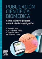 PUBLICACIÓN CIENTÍFICA BIOMÉDICA (EBOOK)