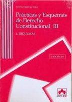 practicas y esquemas de derecho constitucional iii (2 vol.) esque mas y ejercicios (2ª ed.)-antonio torres del moral-9788483422663