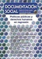 politicas publicas y derechos humanos en regresion 9788484407263