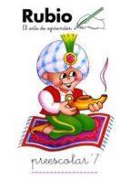 preescolar rubio, n. 7-ramon rubio silvestre-9788485109463