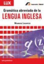 gramatica abreviada de la lengua inglesa mauricio lagartos 9788495920263