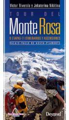 tour del monte rosa victor riverola jekaterina nikitina 9788498292763