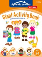 gigant activity book (age 3 4) aprendo en casa 9788499399263
