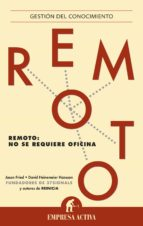remoto (ebook)-jason fried-9788499447063