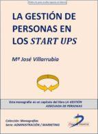 LA GESTIÓN DE PERSONAS EN LOS STAR UPS (EBOOK)