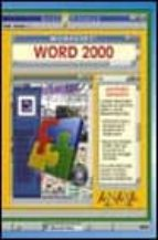 MICROSOFT WORD 2000 (GUIAS VISUALES)