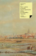 ARGENTINA (1852) BASES Y PUNTOS DE PARTIDA PARA LA ORGANIZACIÓN POLÍTICA DE LA REPÚBLICA ARGENTINA (EBOOK)