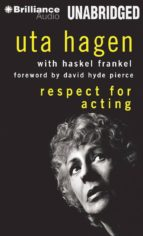 RESPECT FOR ACTING (AUDIO CD)