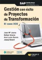 GESTIÓN CON ÉXITO DE PROYECTOS DE TRANSFORMACIÓN (EBOOK)