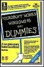 MICROSOFT WORKS PARA WINDOWS 95, DUMMIES