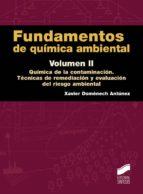 Fundamentos de química ambiental. Volumen II (Ciencias Químicas)