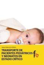 TRANSPORTE DE PACIENTES PEDIATRICOS Y NEONATOS EN ESTADO CRITICO