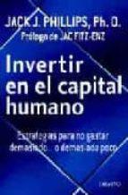 INVERTIR EN EL CAPITAL HUMANO
